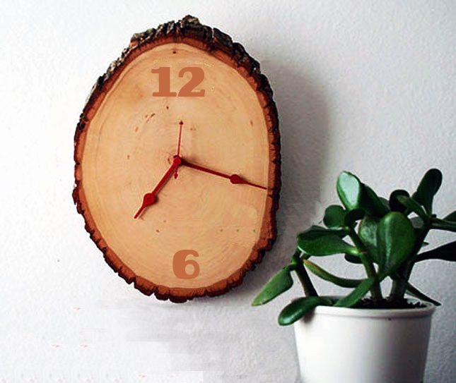 Costruire e decorare un orologio in legno da muro tooltarget for Orologio da muro farfalle